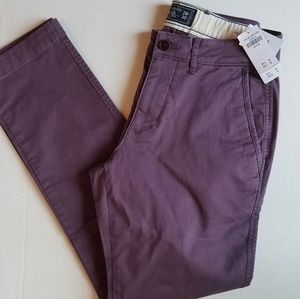 Abercrombie and Fitch pants 28x30 NWT
